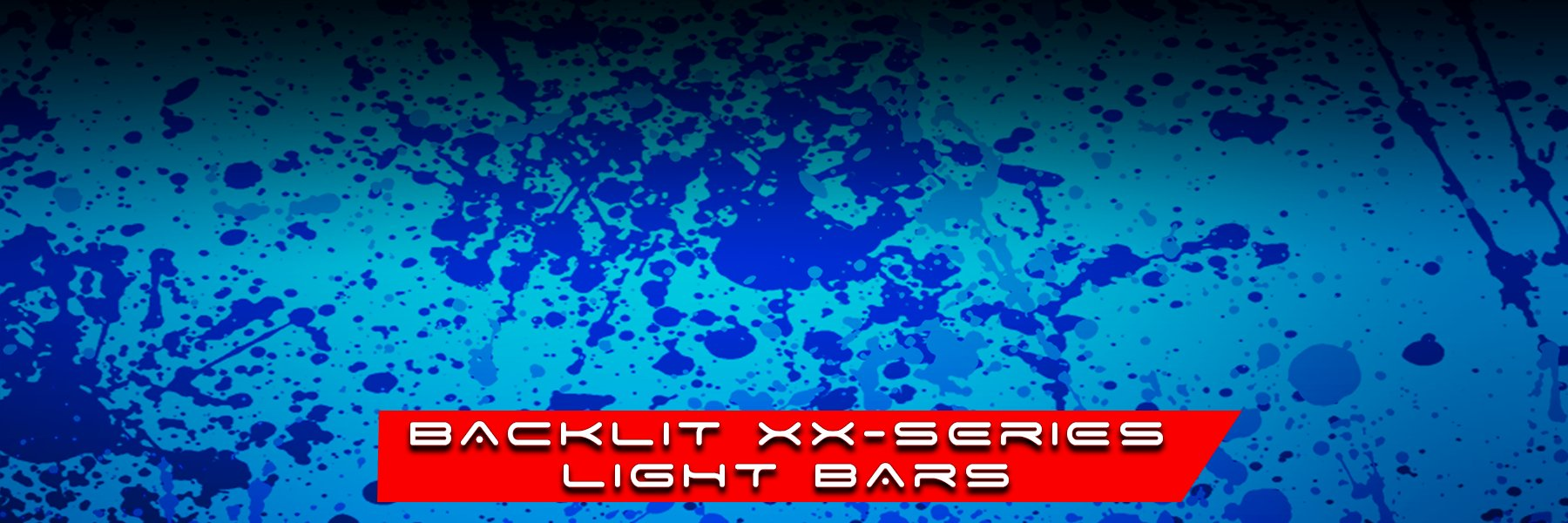 BACK LIT XX-SERIES LIGHT BARS