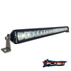 "20"" Single Row LED Light Bar Extremely Bright Light On Plash"