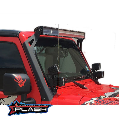 "38"" Texas-Series Light Bar Red White Blue for Jeep"