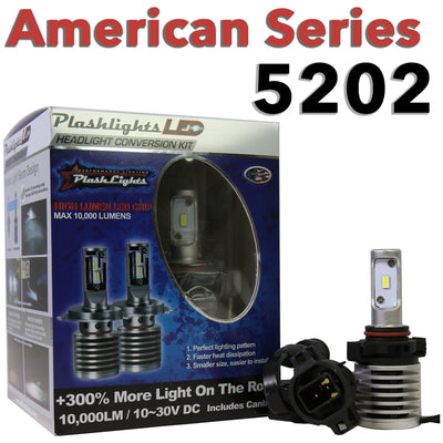 American Series 5202 Brightest LED Headlight Conversion Chevrolet Fog Light
