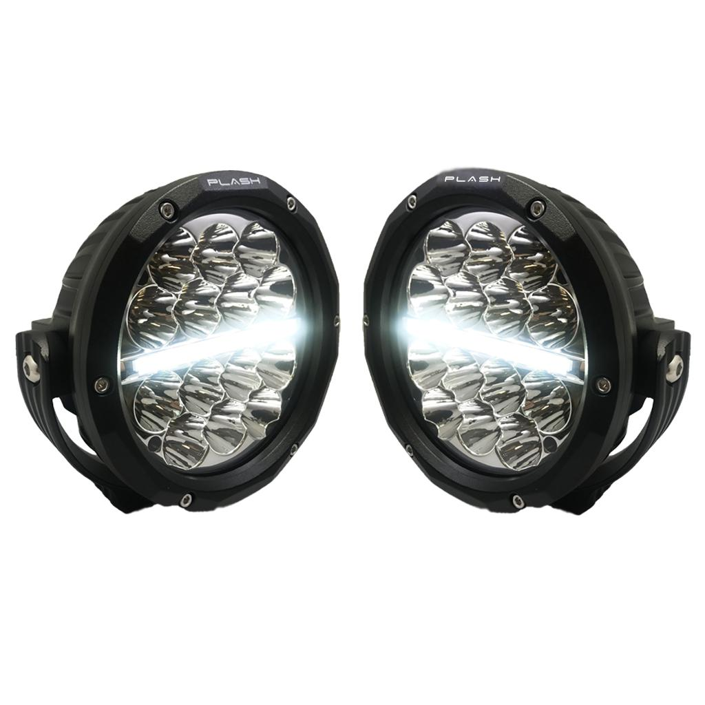 "SOL-V   5"" Round LED Driving Light with DRL"
