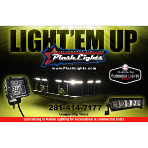 "GEN 3 - 50"" - 500W Fishing Light Bar - Warm White"