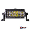 "6"" XX-Series Marine Black Housing Boat LED Light Bar Marine Auto"