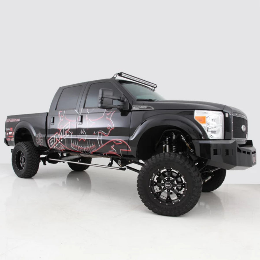 Need a mount for that led light 1999 2016 ford superduty 50 curved led light bar roof mount aloadofball Images