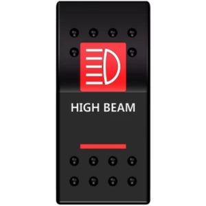 High Beam - Rocker Switch