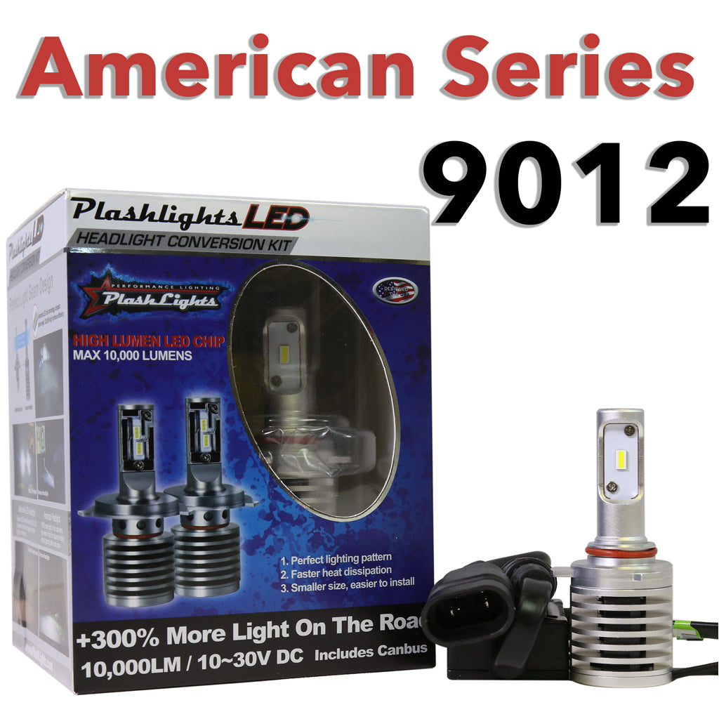 American Series 9012 Brightest LED Headlight