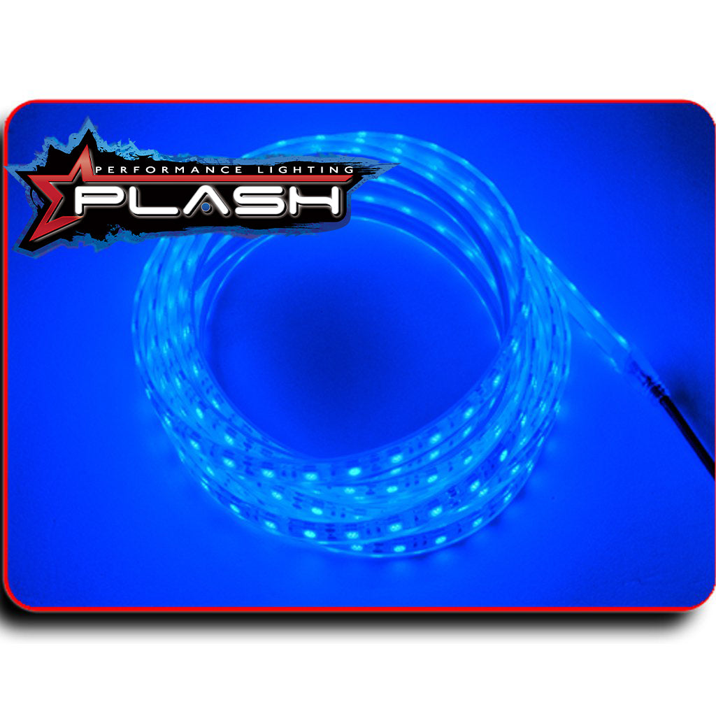 LED Blue Strip Light for Boat Kayak Truck or Bar IP68 Marine Rated waterproof