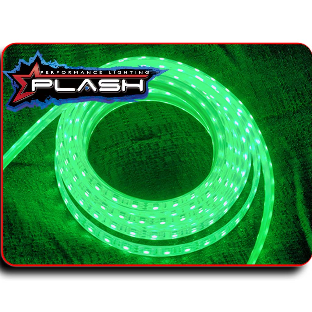 Green Strip Light for Boat Kayak Truck or Bar IP68 Marine Rated waterproof