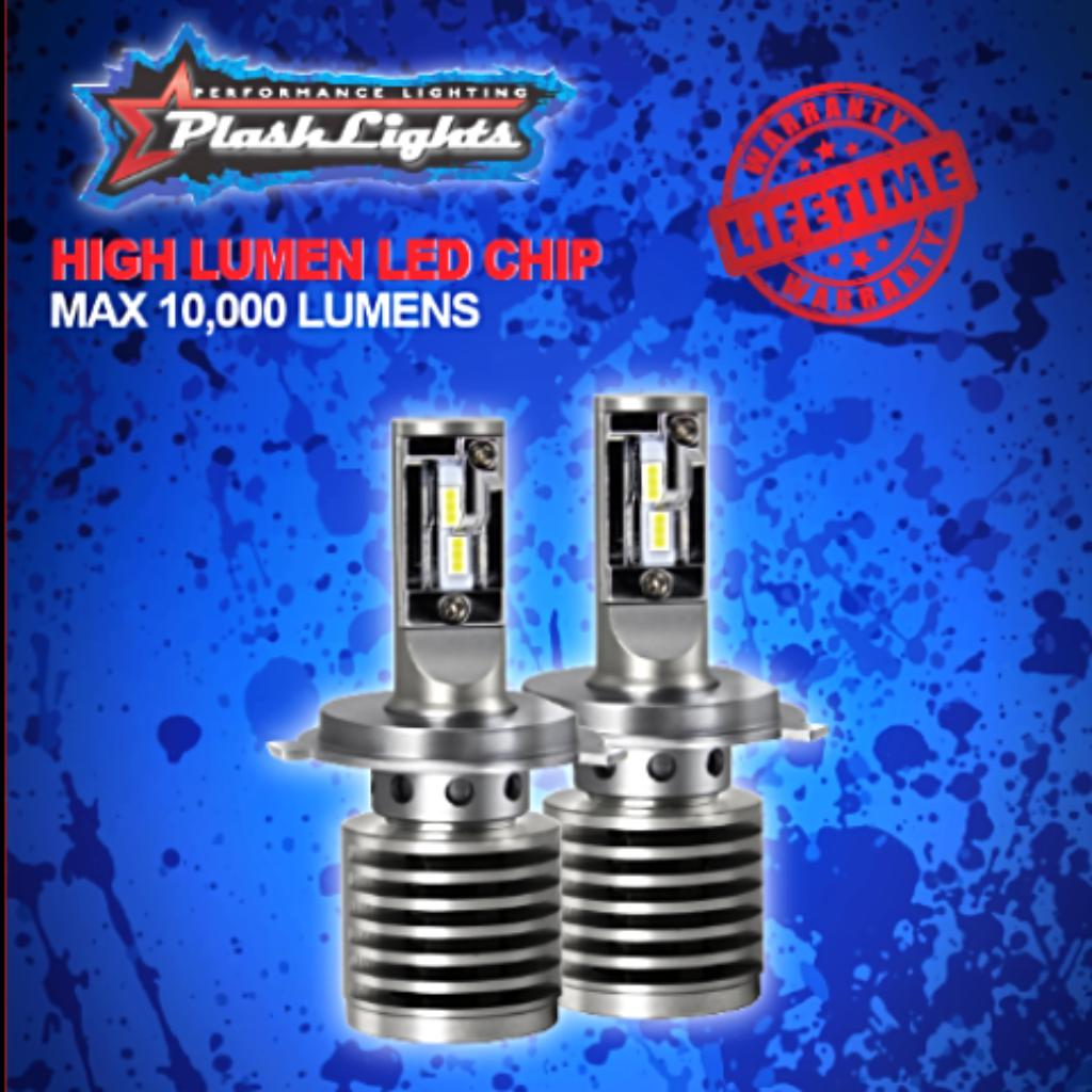 LED headlight bulb conversion ford super duty f250 f350 f450 plug in play brightest dependable