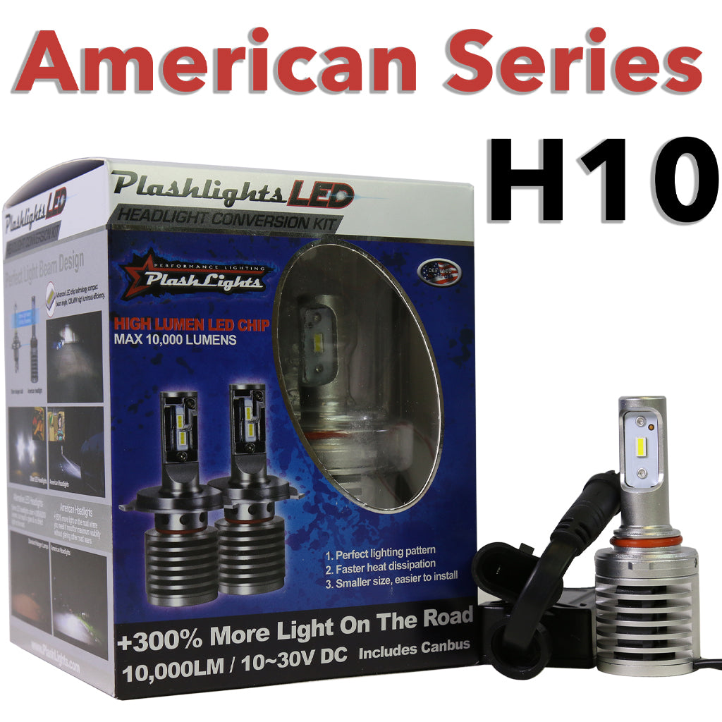American Series H10 Brightest LED Headlight