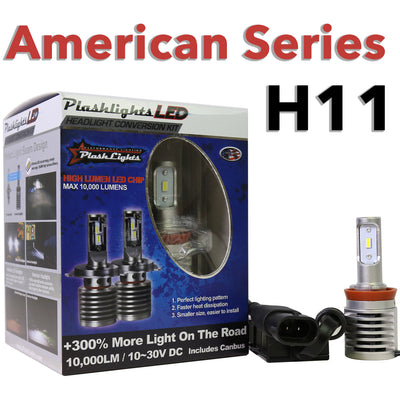 American Series H11 Brightest LED Headlight