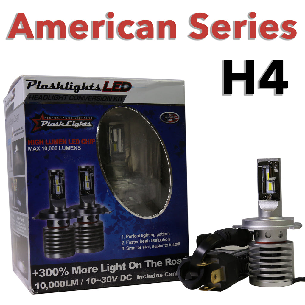 American Series H4 Brightest LED Headlight