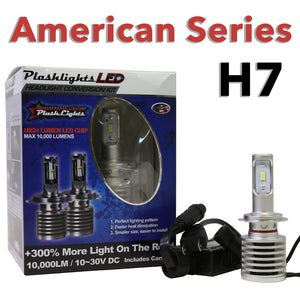 (H7)  6063-Series LED Headlight Conversion Kit