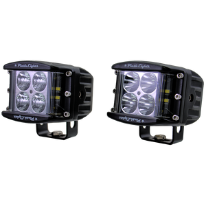 60W Side Shooting LED Cube Lights