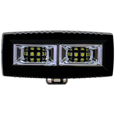 PlashLights marine rated LED low profile light spreader t-top reverse saltwater