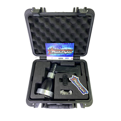 Laser Spot Light Carrying case Rechargeable Mile