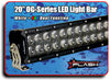 "20"" Blacked Out OG-Series LED Light Bar + RGB Backlighting"