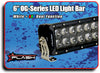 "6"" Blacked Out OG-Series LED Light Bar + RGB Backlighting"