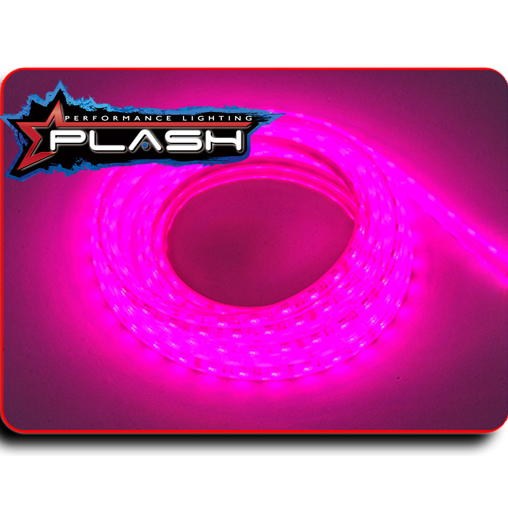 Pink Strip Light for Boat Kayak Truck or Bar IP68 Marine Rated waterproof