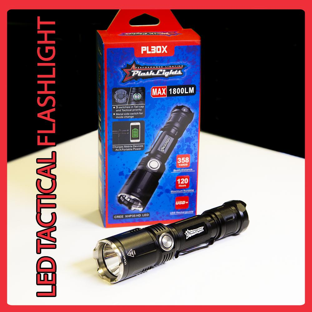 PL30X LED FLASHLIGHT