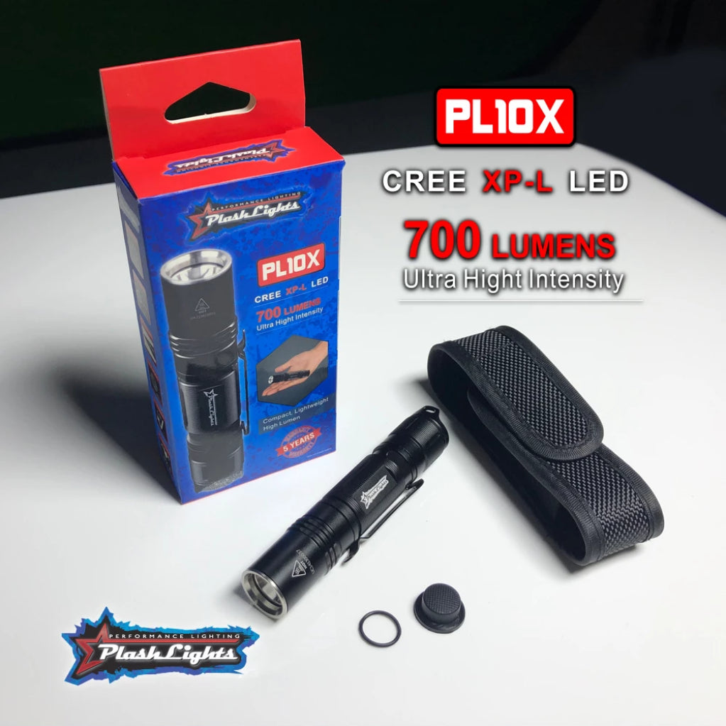 PL10X LED FLASHLIGHT