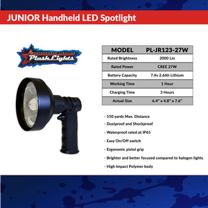 Plashlights Junior Rechargeable LED Spotlight