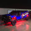 RED LED Rock Lights PLASH Truck Underglow Accent PlashLights