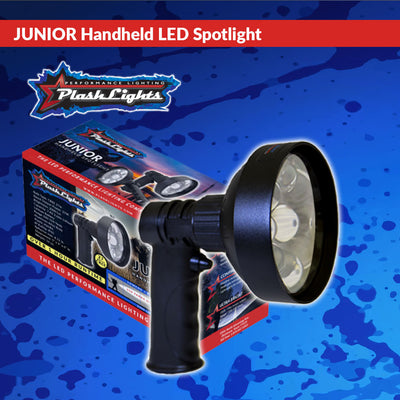 Rechargeable Handheld LED Spotlight PLASHLIGHTS