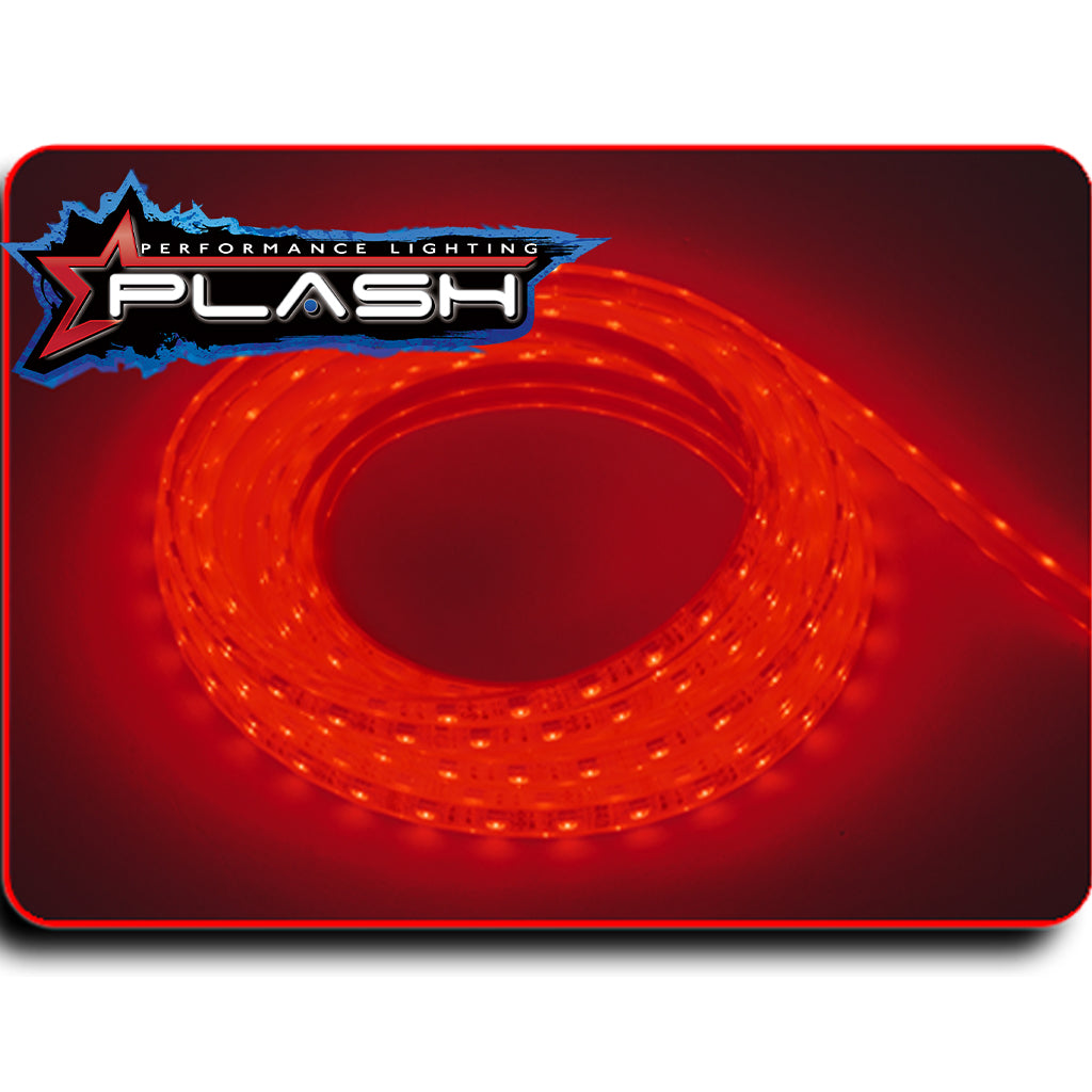 Red Strip Light for Boat Kayak Truck or Bar IP68 Marine Rated waterproof
