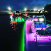 24V RGB Color Changing Waterproof Flexible Light Strip on Boat