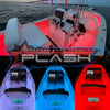 12V RGB Color Changing Waterproof Flexible Light Strip Boat Collage