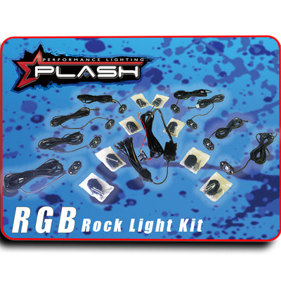 RGB Color Changing Rock Light Kit Sema Truck Marine use for Boat