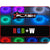 RGBW Color Changing Strip Light for Boat Kayak Truck or Bar IP68 Marine Rated waterproof