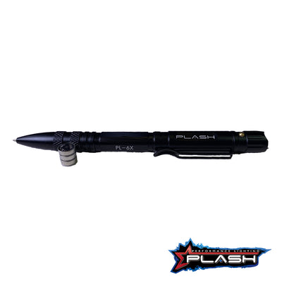 PlashLights MultiFunctional Tactical Pen with 3 Batteries