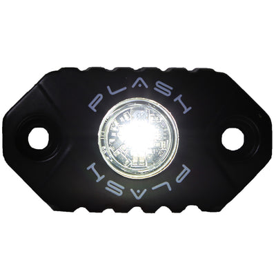 White Rock Light Surface Mounted Sema Truck LED PlashLights