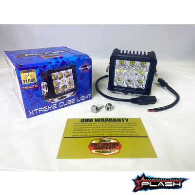 XTREME POWER CUBE LIGHT - 180W - WITH BOX - LIFETIME WARRANTY  PLASHLIGHTS
