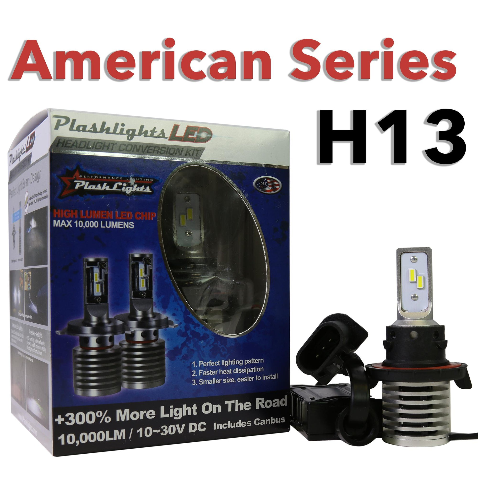 American Series H13 Brightest LED Headlight