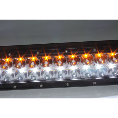 PlashLights 50 Inch Dual Color LED Hunting Light Bar Fog Sand Amber Orange Color Night Vision Stealth predator hunt kill
