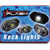 White Rock Light Surface Mounted Sema Truck LED Kit PlashLights