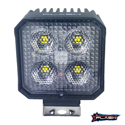 24 Watt Work Light PLASH Front View