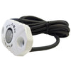 PlashLights White Housing Rock Light Surface Mounted LED Cool White output gunnel ate sxs amp ford step light