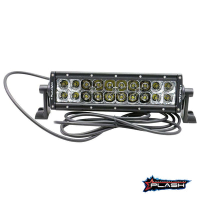"10"" LED Light Bar XX-Series 100 Watts Extremely Bright Marine Boat"