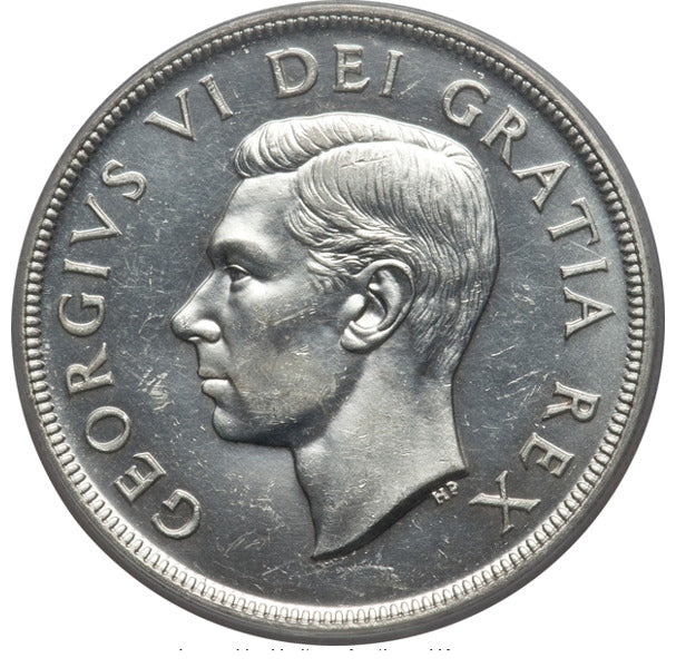 Canada: George VI Dollar 1948 MS62 PCGS