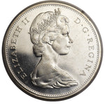 Canada: Elizabeth II Dollar 1966 Small Beads