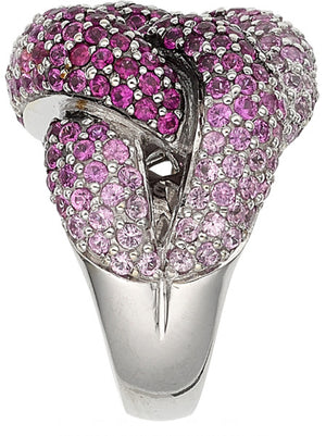 Pink Sapphire, White Gold Ring, LeVian