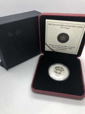 2004 Special Edition Proof Silver Dollar The Poppy