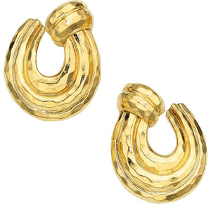 Gold Earrings, Henry Dunay
