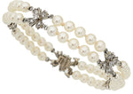 Cultured Pearl, Diamond, Platinum Bracelet, Tiffany & Co
