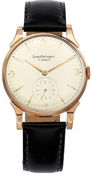 Girard Perregaux Gentleman's Rose Gold Watch
