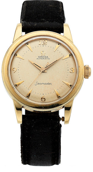 Omega Gentleman's Gold Watch